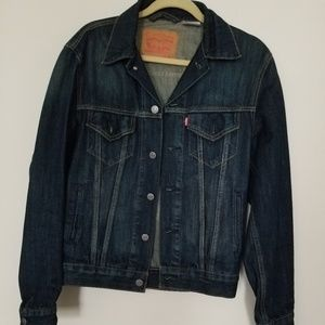 Vintage Levi's  jean denim jacket size sma…